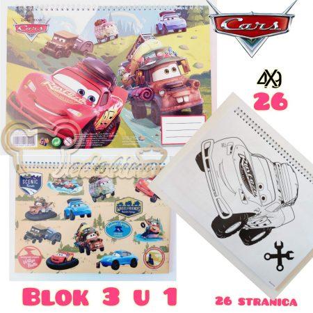 CARS BLOK 3 U 1